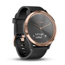 Garmin Vivomove HR Hybrid Smart Watch Heart Rate Monitor Watch Black Rose Gold