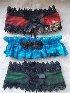 Maid Collars.Lace Taffeta.Fancy Dress.Adjustable Role Play