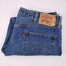 Levis 501 Jeans Blue 42x30 Mens Classic Straight Fit Denim Jean Button Fly Size
