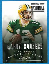 2013 Prestige National Convention #71 Aaron Rodgers #1/5 Green Bay Packers