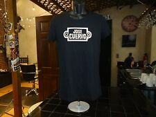 Jose Cuervo black ladies large t-shirt, brand of tequila founded in Mexico