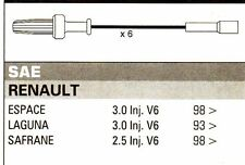 RENAULT Espace Laguna Safrane V6 3.0 Formula Power 10mm RACE PERFORMANCE Leads