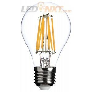 A19 LED Vintage Edison Filament Bulb, E26 Base 7W LED=60W equivalent, 806lm