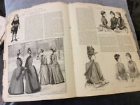 Antique Book Print - Dress: In Season and In Reason - 1888