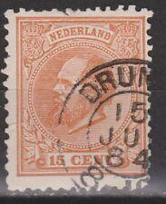 NVPH Netherlands Nederland 23 CANCEL DRUNEN Willem III 1872