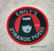 genuine Emily The Strange Posse cloth badge sew on patch new in bag EMO ,GOTH