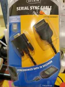 Belkin serial Sync Cable for Palm M100 series handhelds (F3X1079-03)