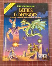 Deities & Demigods - TSR Dungeons & Dragons AD&D D&D - Excellent - 128 pages