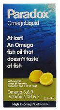 Paradox Omega Oil Liquid 225ml - Top quality / High grade Omega 3,6,9