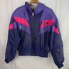 Mens Vintage PHENIX Hooded Ski Jacket Purple Size XL