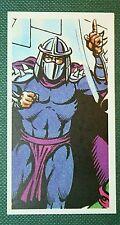 SHREDDER   Teenage Mutant Hero Turtles   Superb Illustrated Small Card