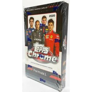 BOX BREAK  2020 Topps Chrome Formula 1 Hobby Box (1 RANDOM PACK)