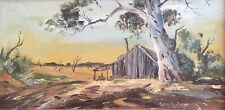 Kevin Boucher. Original Oil Painting. A listed Australian artist.