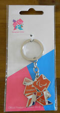 LONDON 2012 PARALYMPIC GAMES OFFICIAL KEYRING UNION JACK LOGO