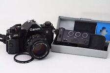 [NEAR MINT] Canon A-1 35mm SLR + NEW FD 50mm F1.4 + DATA BACK A #660