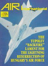 Air International (June 1988) (Tu-22 Backfire, Hungarian Air Force, Lightning)