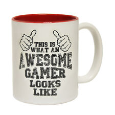 Funny Mugs This Is What An Awesome Gamer Looks Like Geek Nerd Gamer NOVELTY MUG