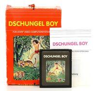 "Atari 2600 PAL ""Dschungel Boy"" Modul, Anl. & OVP"