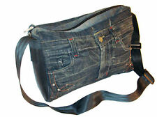 Fair Trade Recycled Jeans Shoulder/Hand Bag.