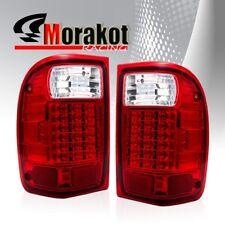 Ford Ranger 93-00 LED Left/Right Rear Brake Signa Lamp Tail Light Red Clear
