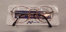 Vintage Girard 6817 Rainbow 48/20 P3 Round Made Italy Eyeglass Frame NOS