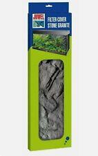 JUWEL AQUARIUM STONE GRANITE FILTER COVER MATCHES BACKGROUND TANK DECORATION
