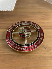 Porsche club 901 911E 911S 911T vintage Grill Badge