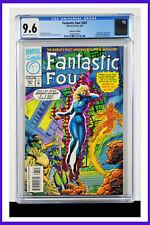 Fantastic Four #387 CGC Graded 9.6 Marvel 1994 Prismatic Die-Cut Foil Comic Book