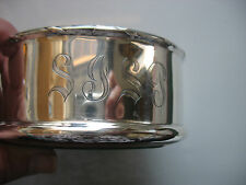 Dominick & Haff Sterling Silver Wine bottle Coaster tray 1899 Engraved SJSP