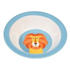 dotcomgiftshop LION MELAMINE BOWL