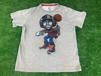 LeBron James Nike T-shirt Men's XL Gray