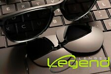 A28 Dark Black POLARIZED Replacement Legend Lenses For Oakley FROGSKIN