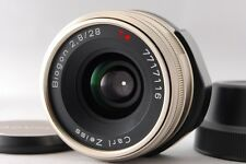 [Excellent+++++] CONTAX Carl Zeiss Biogon 28mm f/2.8 T* for G1/G2 From Japan #89
