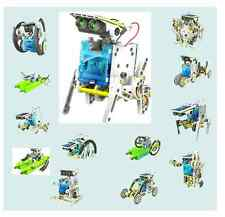 OWI-MSK615 ROBOT KITS 14 in 1 Solar Robot Kit  Ages 9+--LIMIT 2 PER CUSTOMER
