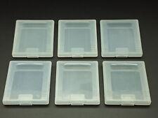 6 Original Nintendo GameBoy Hüllen - Schutzhüllen - cases - Game Boy GB Zubehör