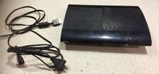 Sony PlayStation 3 Slim NOT WORKING 500GB Hard Drive Turns on sometimes