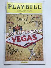 Tony Danza Signed Autographed Honeymoon in Vegas Playbill