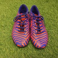 Adidas Predito Purple/Orange Size 7 Astro Turf Trainers #111024027 Lace Ups Worn