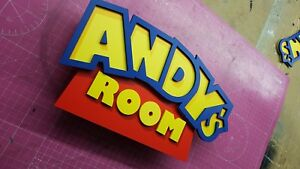'TOY STORY' Door/Wall Sign Plaque for Child's Bedroom ..any name made to order