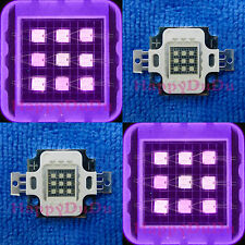 10W UV 395nm-400nm Purple High Power LED Lamp Light DIY Ultra Violet Emitter