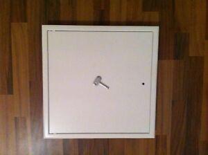 Revisionsklappe, Revisionstür, Tür,  400 x 400mm weiss