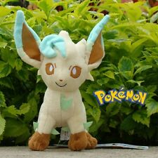 "Pokemon Plush Toy Leafeon 8"" Nintendo Game Cute Stuffed Animal Doll"