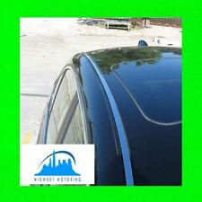 2004-2010 BMW E60 5 SERIES CHROME ROOF TRIM MOLDINGS W/5YR WARRANTY 2PC