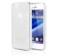 iPhone 5 / 5S TPU Case transparent matt Silikon Cover Schutz Hülle Tasche Bumper