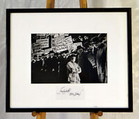 Ferlinghetti at Ellis Island by Christopher Felver 1996 Silver Gelatin  signed