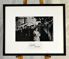 Ferlinghetti at Ellis Island by Christopher Felver 1996 Silver Gelatin  signed