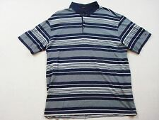 Tiger Woods Collection Nike Fit Dri Polo Golf Shirt Size Xl Men's Navy