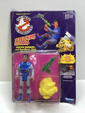 Real Ghostbusters Screaming Heroes Winston Zeddmore Figure w Houndhowl Ghost New