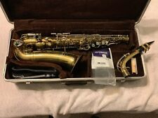 Used buescher aristocrat alto saxophone with Henri Selmer Mouthpiece.
