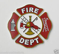 Fire Dept Department Fridge Magnet - Made in the USA